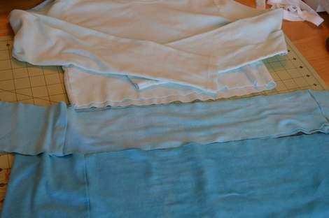 blue ombre ruffled tshirt 11