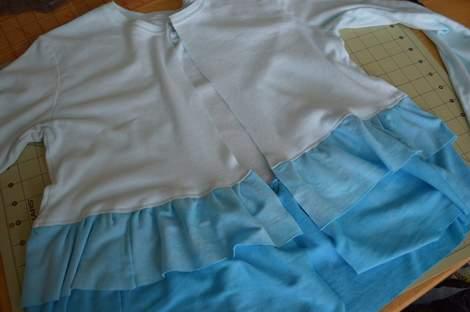 blue ombre ruffled tshirt 16