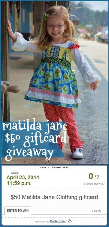 matilda jane wonderful parade giftcard giveaway link