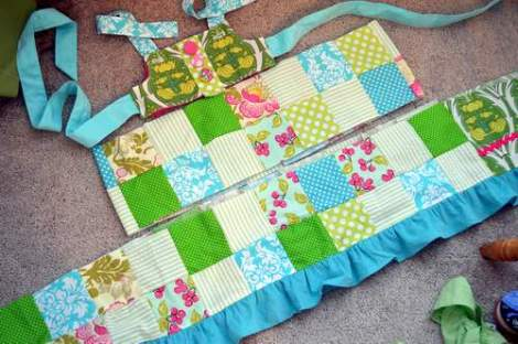 patchwork twirl dress 13