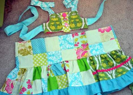 patchwork twirl dress 14