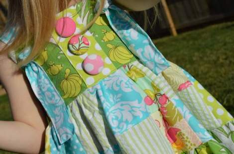 patchwork twirl dress 16