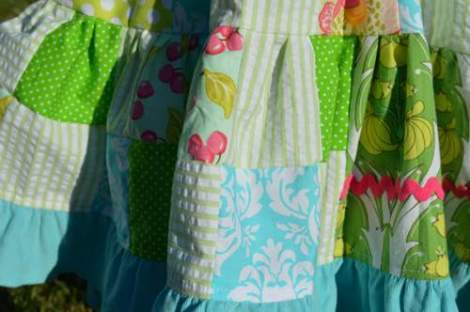patchwork twirl dress 17