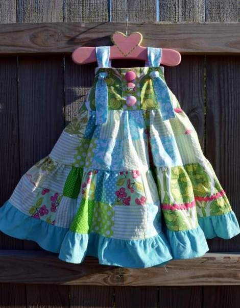 patchwork twirl dress 18