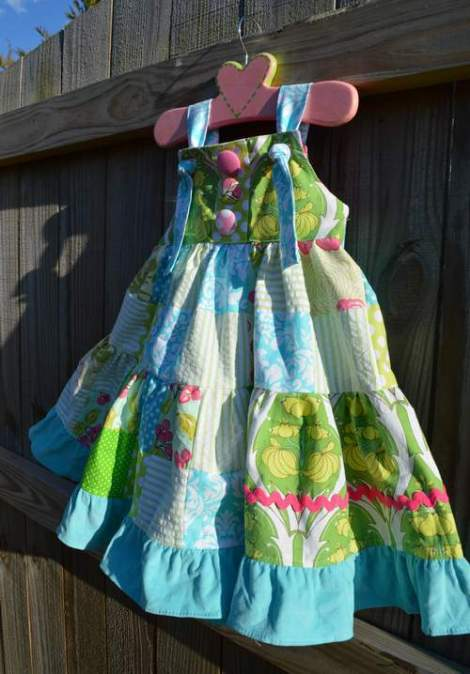 patchwork twirl dress 19