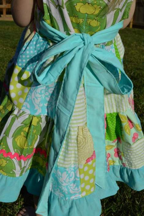 patchwork twirl dress 21