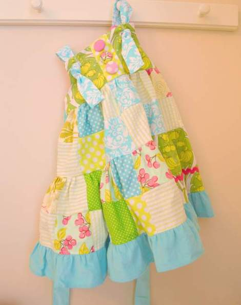 patchwork twirl dress 24
