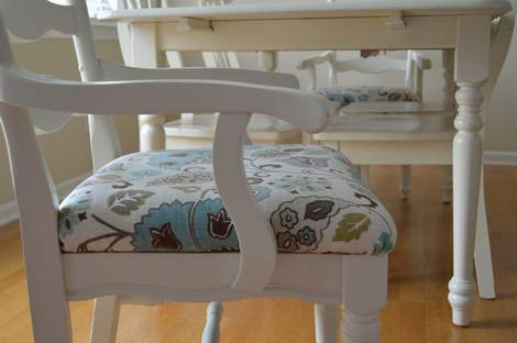 kitchen chairs makeover 13