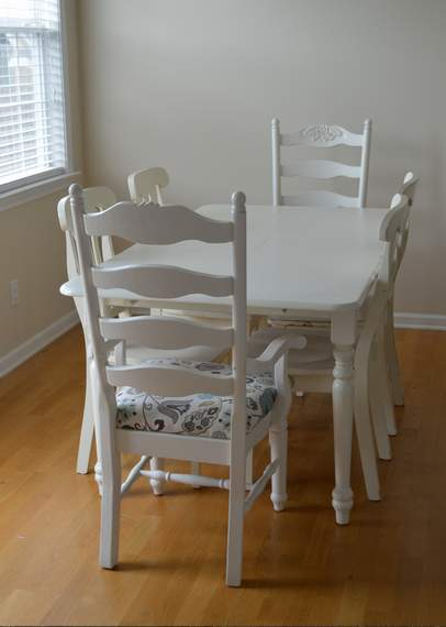 kitchen chairs makeover 14