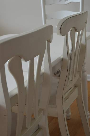 kitchen chairs makeover 15