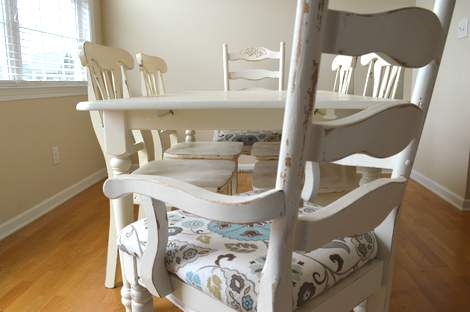 kitchen chairs makeover 24