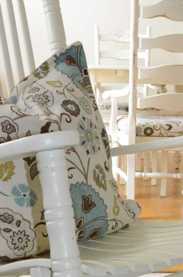 kitchen chairs makeover 27