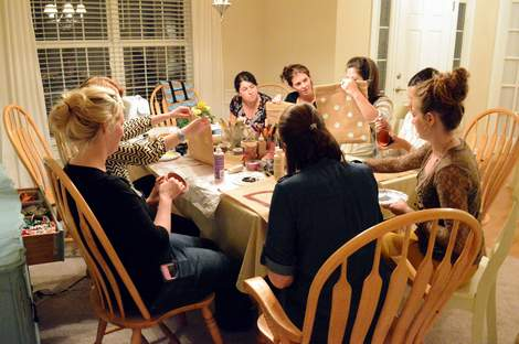 moms' night out pinterest craft party 007
