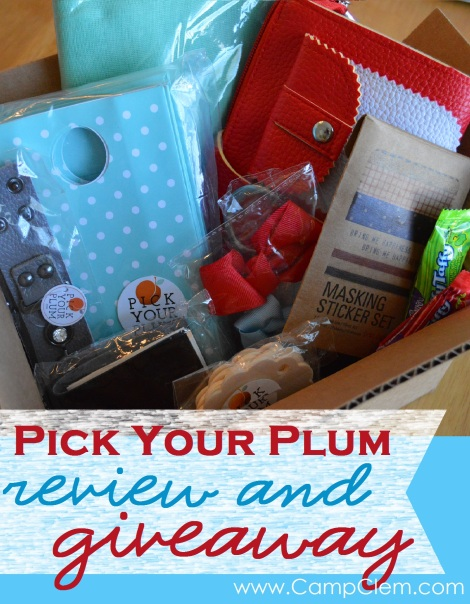 Pick Your Plum review & giveaway 018