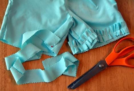 ruffle shorts 01