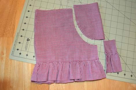 ruffle shorts 04