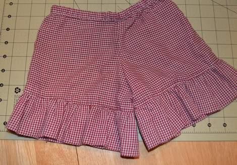 ruffle shorts 07