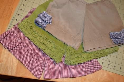 ruffle shorts 08