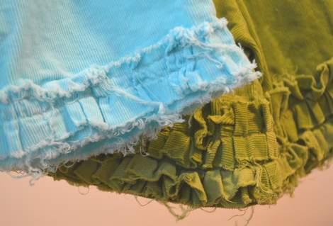 ruffle shorts 12