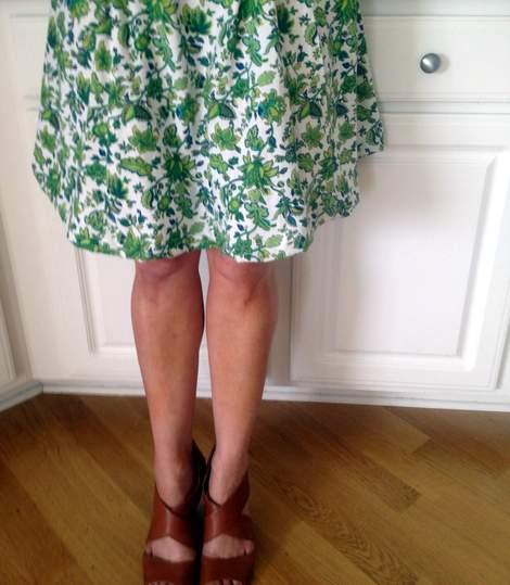 green skirt twinning 003'