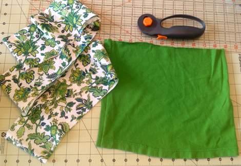 green skirt twinning 004
