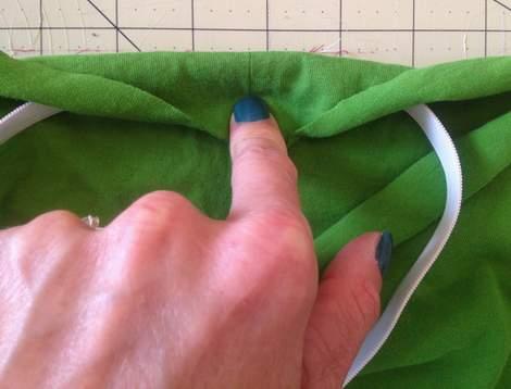 green skirt twinning 007