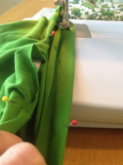 green skirt twinning 010