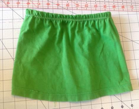 green skirt twinning 012