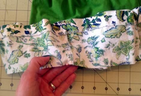 green skirt twinning 013