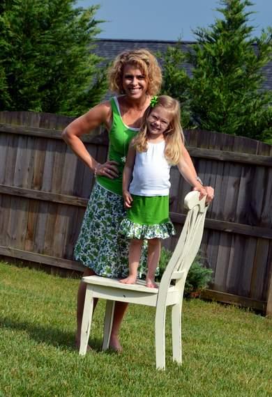 green skirt twinning 018
