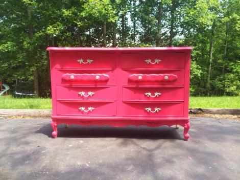 pink dresser makeover 04