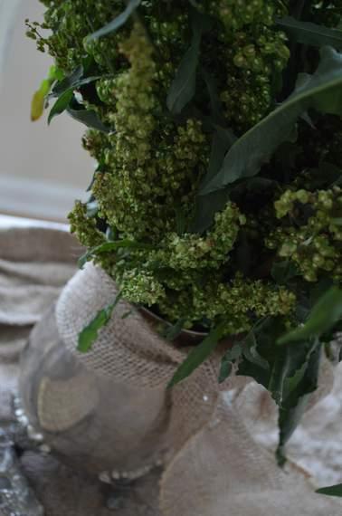 pinterest party weed arrangement tablescape 07