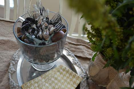 pinterest party weed arrangement tablescape 13