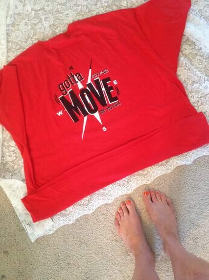 VBS shirt refashion t-shirt quilt patchwork maxi dress 02
