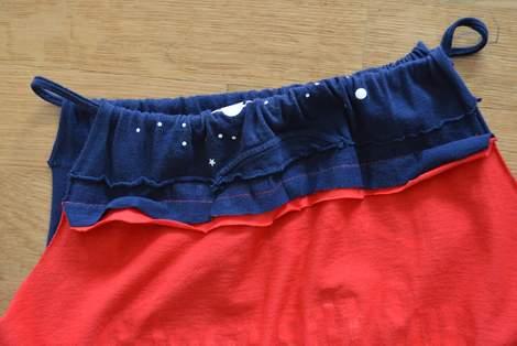 VBS shirt refashion t-shirt quilt patchwork maxi dress 08