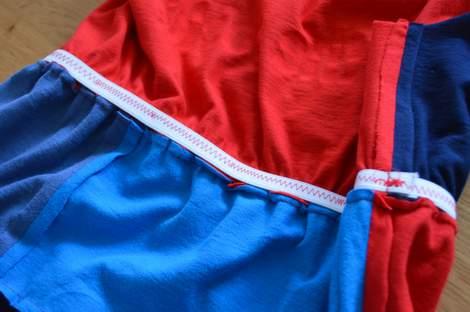 VBS shirt refashion t-shirt quilt patchwork maxi dress 10