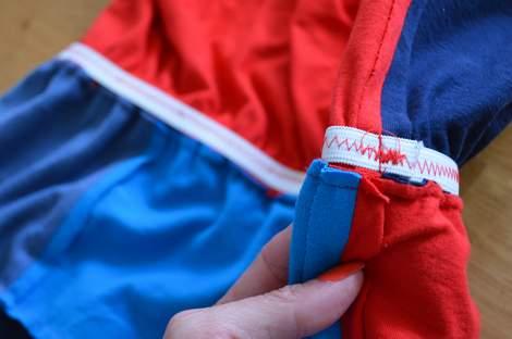VBS shirt refashion t-shirt quilt patchwork maxi dress 11