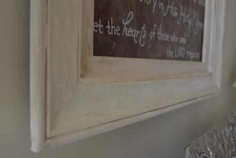 06  foyer painting frame makeover