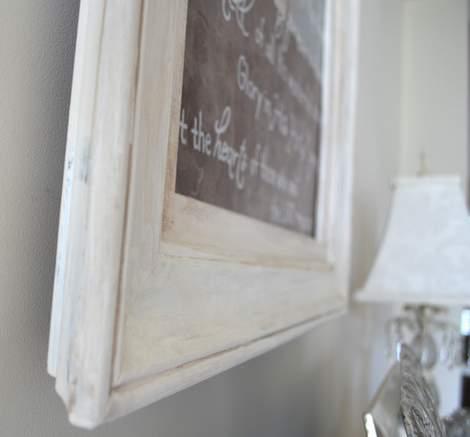 08 foyer painting frame makeover
