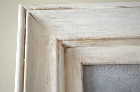 09 foyer painting frame makeover