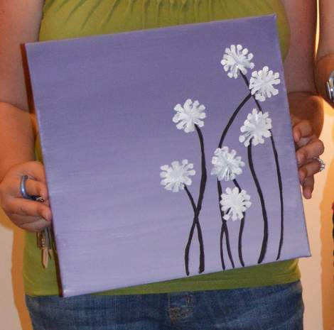 11 neighborhood moms craft night painting