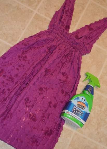 bleach splatter dress 02