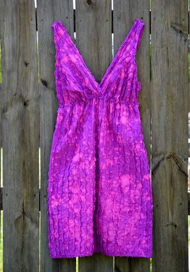 bleach splatter dress 04
