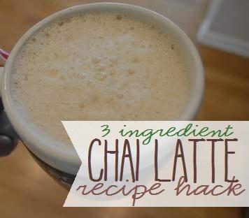 chai latte knock-off starbucks recipe hack