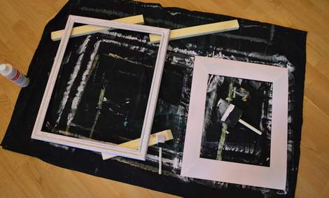 chunky pink frame makeover 07