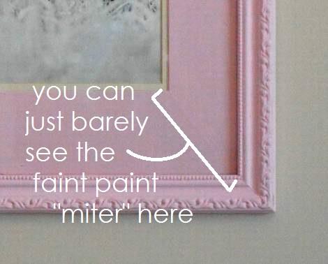 chunky pink frame makeover 12