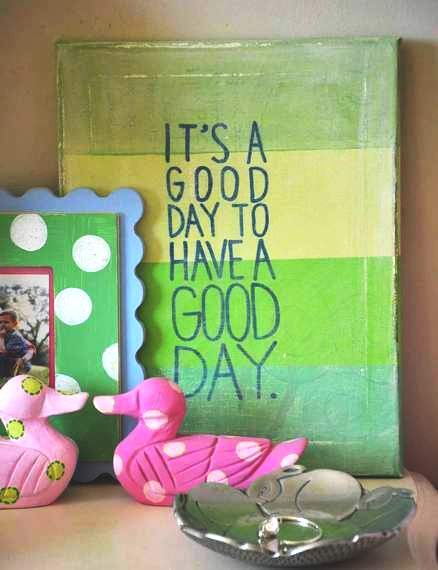 good day canvas 12