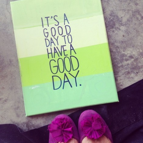 good day canvas 14
