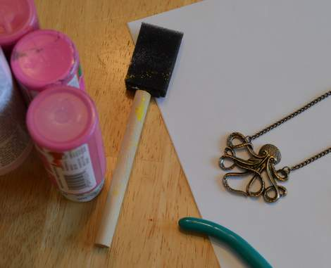 octopus necklace makeover 01'
