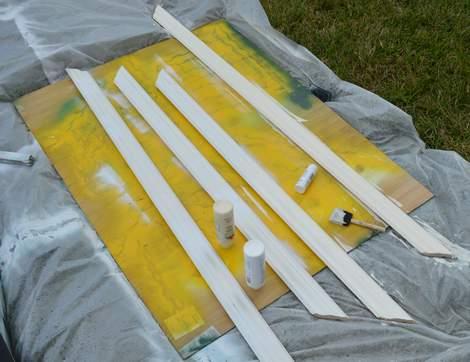 DIY framed mega magnetic chalkboard 12